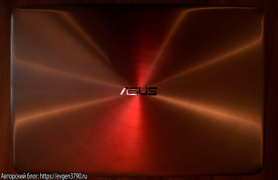 Крышка ноутбука ASUS Zenbook UX510UW-CN048T