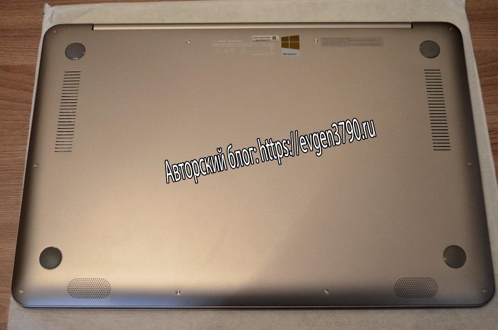 Задняя крышка ноутбука ASUS Zenbook UX510UW-CN048T