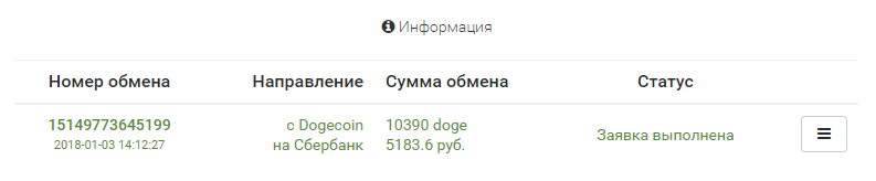 вывод денег Вывод криптовалюты DOGE - рубли на пластиковой карте. https://ychanger.net/?R=15149778005970